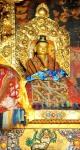 Samye buddyzm klasztor tron złotoTybet