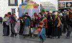 Tybet pielgrzymi JokhangLhasa
