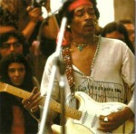 Jimi Hendrix naWoodstock