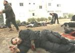 zraniony Palestyńczyk