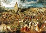 Pieter Bruegel Droga Krzyżowa Muzeum Historii Sztuki wWiedniu