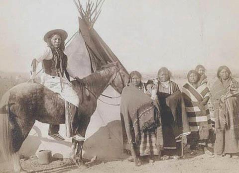 Indiańskie miejsca pochówku z przeszłości