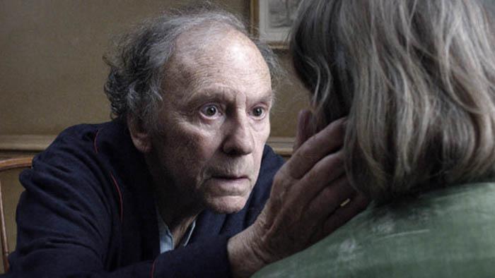 jean louis trintignant emmanuelle riva amour miłość reż. Michael Haneke