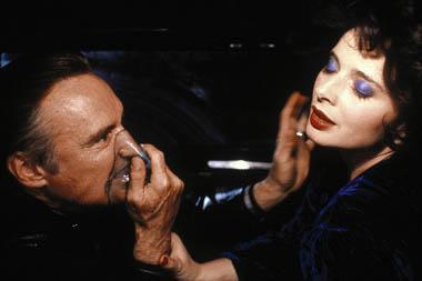 """Isabella Rossellini i Dennis Hopper w """"Blue Velvet"""""""