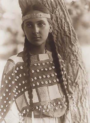 Młoda Indianka
