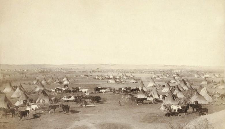 obóz indiański