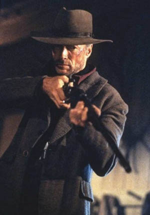 "Clint Eastwood w ""The Unforgiven"""