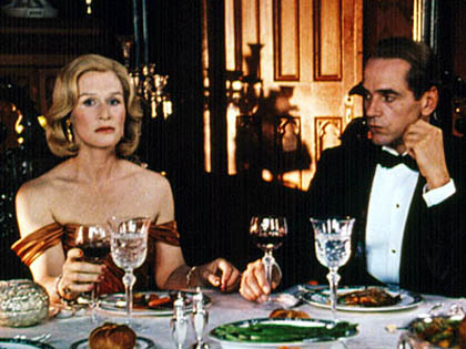 "Glenn Close i Jeremy Irons w ""Reversal of Fortune"""