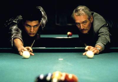 """Tom Cruise i Paul Newman w """"Kolorze pieniędzy"""""""