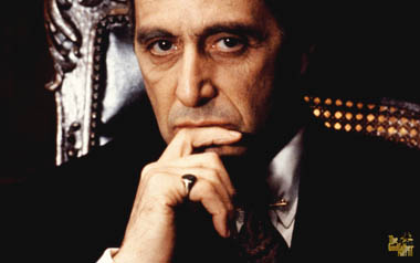 "Al Pacino w ""Ojcu Chrzestnym III"""