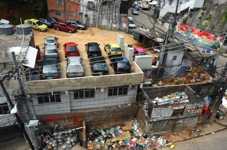 Parking czy śmietnisko?