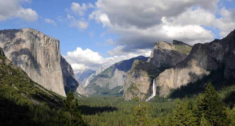 Scenerie godne oka Ansela Adamsa (Dolina Yosemite)