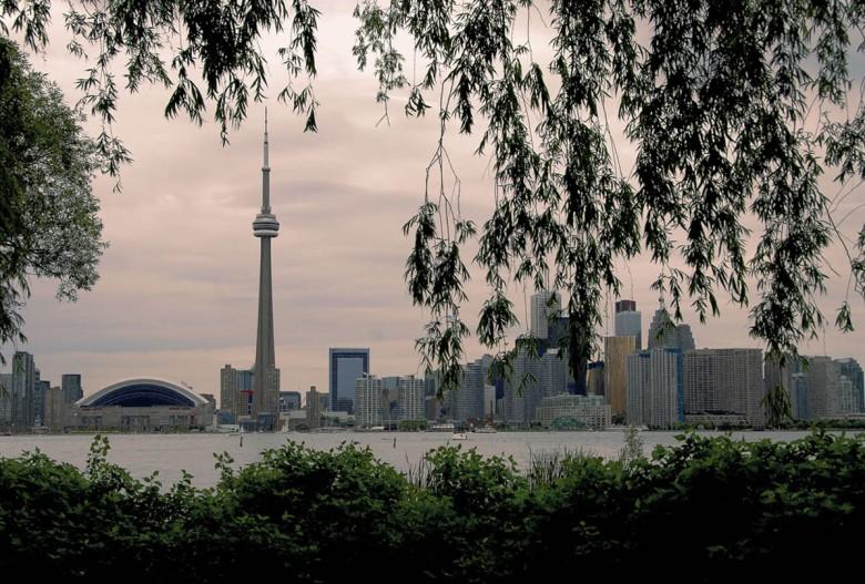 Panorama Toronto - widok z archipelagu wysp