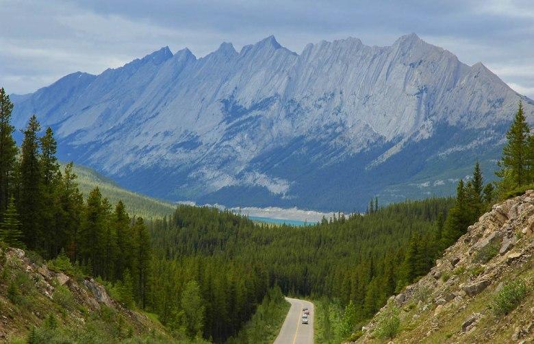 Kręgosłup kontynentu: Icefield Parkway w Kanadzie wiedzie przez najbardziej spektakularne rejony Gór Skalistych Kanady