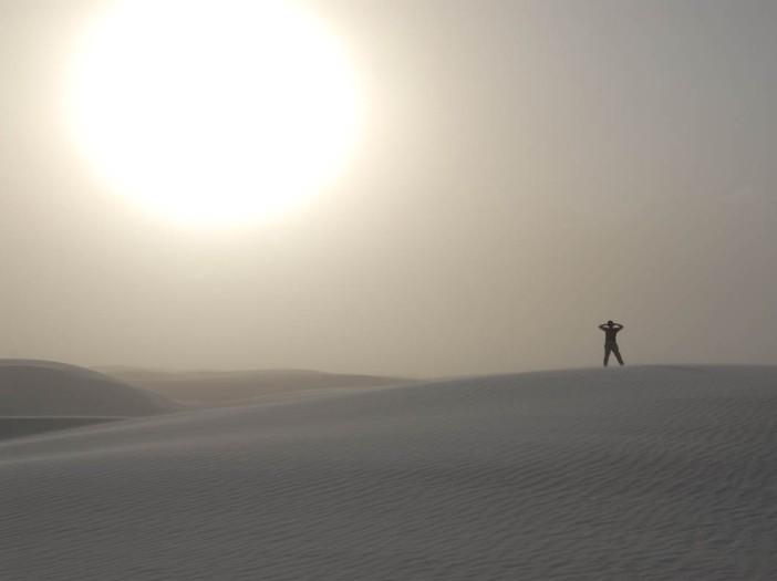 Pod wielkim słońcem pustyni - na Białych Piaskach Nowego Meksyku