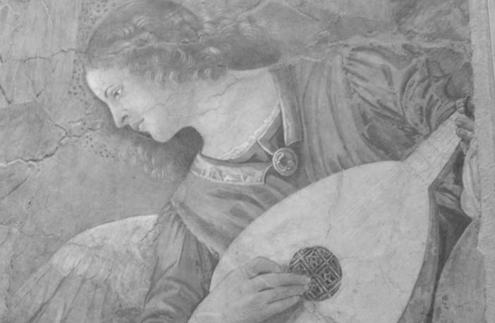 aniol z gitarą (Watykan)