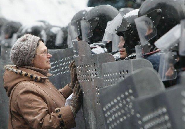 Majdan (fot. Gleb Garanich/Reuters)