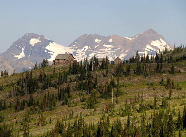 Granite Park Chalet (Glacier National Park, Montana)