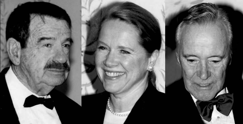 Walter Matthau, Liv Ullmann, Jack Lemmon (zdjęcie własne)