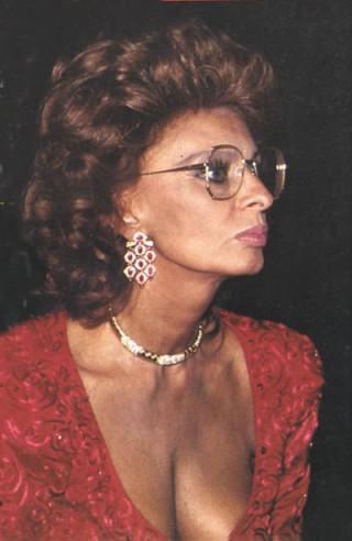 Sophia Loren (zdjęcie własne)