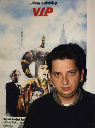 """Juliusz Machulski: """"Jestem chyba bardziej kinomanem, niż reżyserem. Zostałem reżyserem, gdyż lubiłem oglądać filmy, a nie dlatego, że chciałem zbawiać świat."""""""