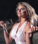 Katarzyna Figura w filmie Pociąg doHollywood