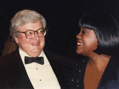 Najpopularniejszy amerykański krytyk filmowy Roger Ebert (1942-2013) z żoną