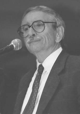 Edward Albee (zdjęcie własne)