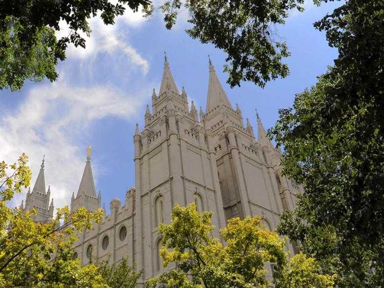 Świątynia Mormonów w Salt Lake City