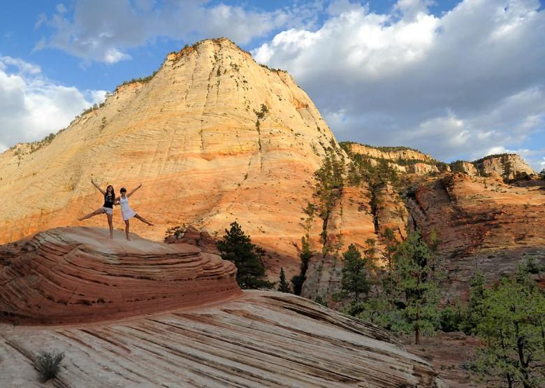 w Parku Narodowym Zion - Utah