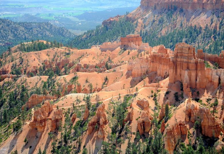 Ścieżki w Kanionie Bryce'a (Utah)