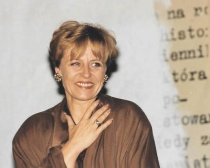 Krystyna Janda: ...  (zdjęcie własne)
