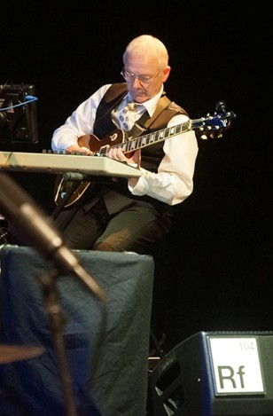 Robert Fripp w Chicago, 2014 (fot. Tony Levin)