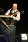 Robert Fripp ( fot. Tony Levin) – King Crimson tour, Chicago2014