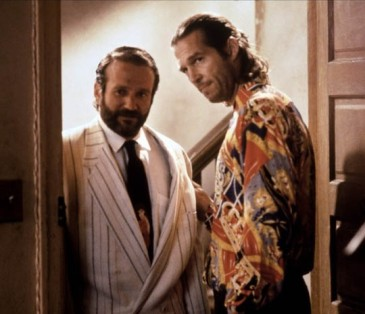"Robin Williams i Jeff Bridges tworzą przebojowy duet w ""The Fisher King"""