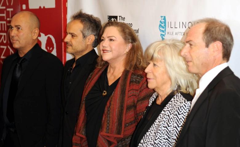 Jury 50-go Międzynarodowego Festiwalu Filmowego w Chicago (od lewej: Ferzan Ozpetek, Parviz Shahbazi, Kathleen Turner,  Margarethe Von Trotta, Giora Bejach)