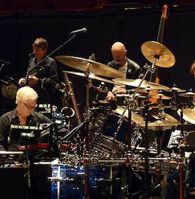 King Crimson (part of it)) in Concert (fot. Sid Smith)