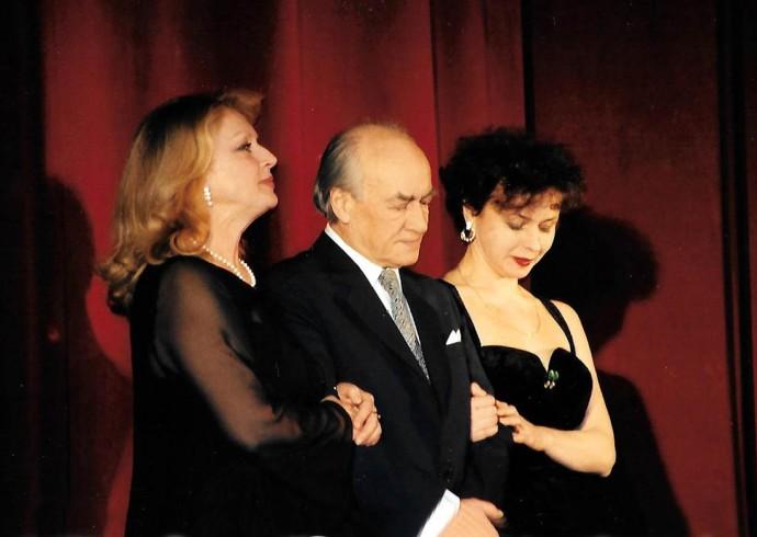 Ewa Wiśniewska, Wiesław Michnikowski i Joanna Szczepkowska