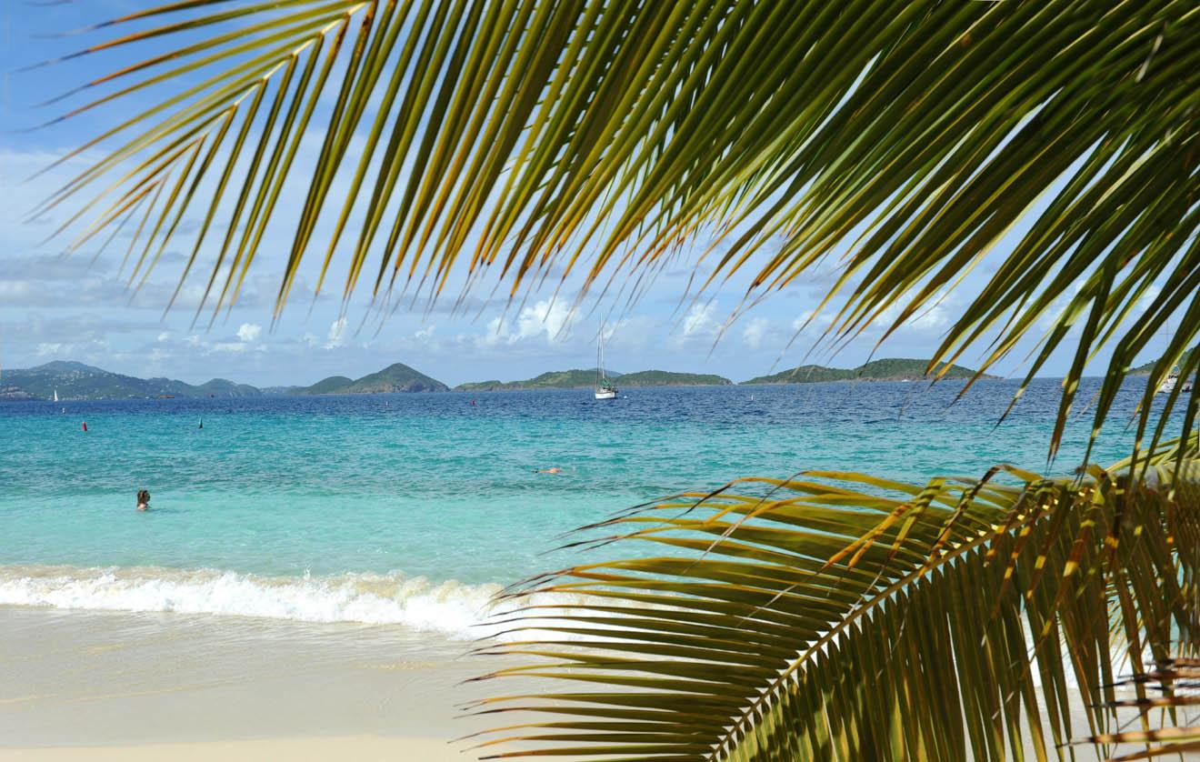 Beach on St. John  (USA Virgin Islands)