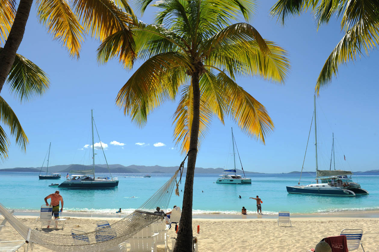 White Bay Beach - Jost Van Dyke   (British Virgin Islands)