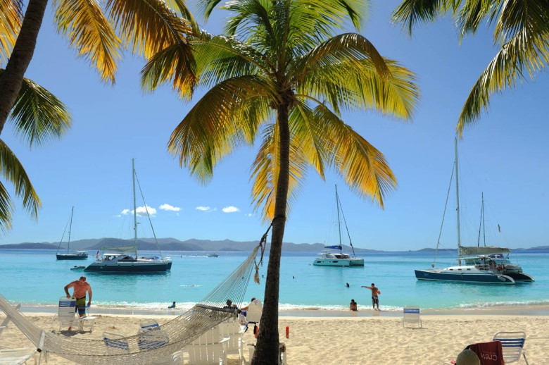 White Bay Beach - Jost Van Dyke   (British Virgin Islands)