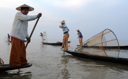 The fishermen of Inle Lake (Burma) (1)