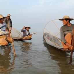 The fishermen of Inle Lake (Burma) (12)