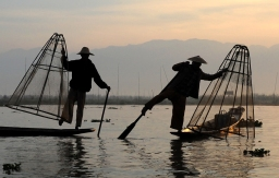 The fishermen of Inle Lake (Burma) (5)