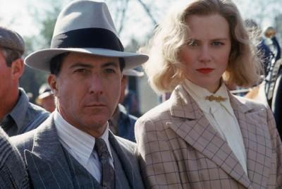 Gangster - zło wcielone i charyzmatyczne (Dustin Hoffman i Nicole Kidman w filmie