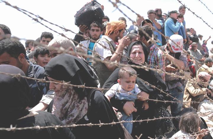 Konfrontacja postaw i wartości każdej ze stron w największym kryzisie uchodźczym w historii powojennej Europy (fot. Sedat Suna)