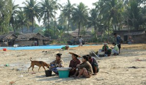 wioska rybacka - Birma (10)