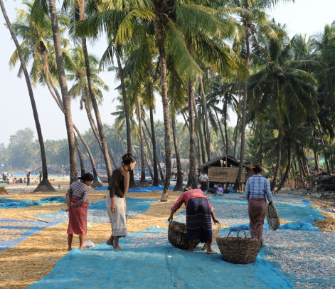 wioska rybacka - Birma (11)