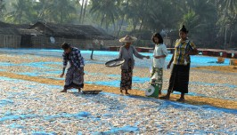 wioska rybacka - Birma (14)