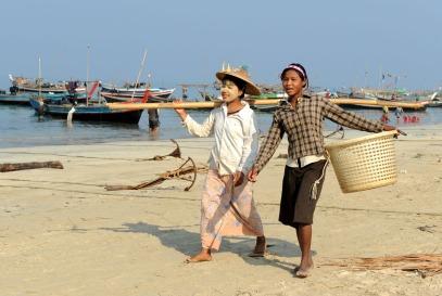 wioska rybacka - Birma (16)